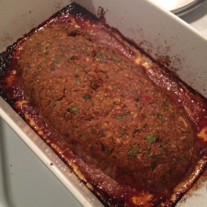 You know what doesn't photograph well? Meatloaf.
